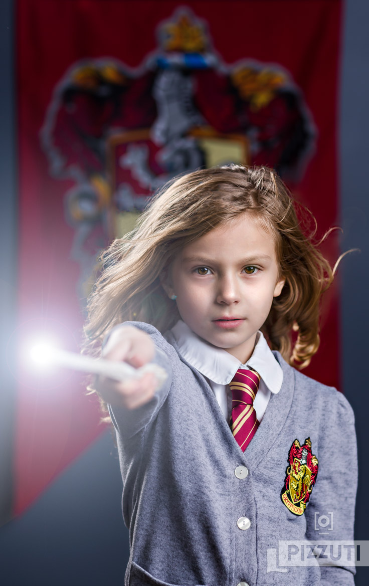 Hermione Granger styled shoot