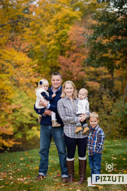 Fall Family Portraits in Epping, NH
