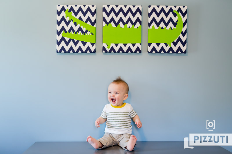 Keaton 9 Months – In home lifestyle session