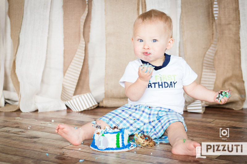 Coen is One! : First Birthday Photographer