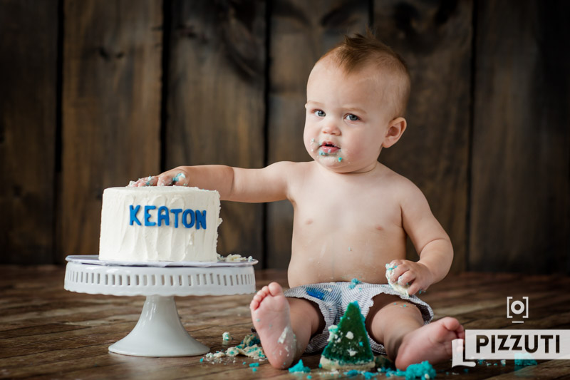 Keaton is One!! | First Birthday Photography