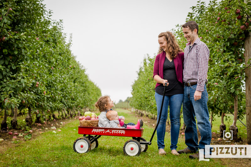 Adorable Apple Picking Lifestyle Photography Session