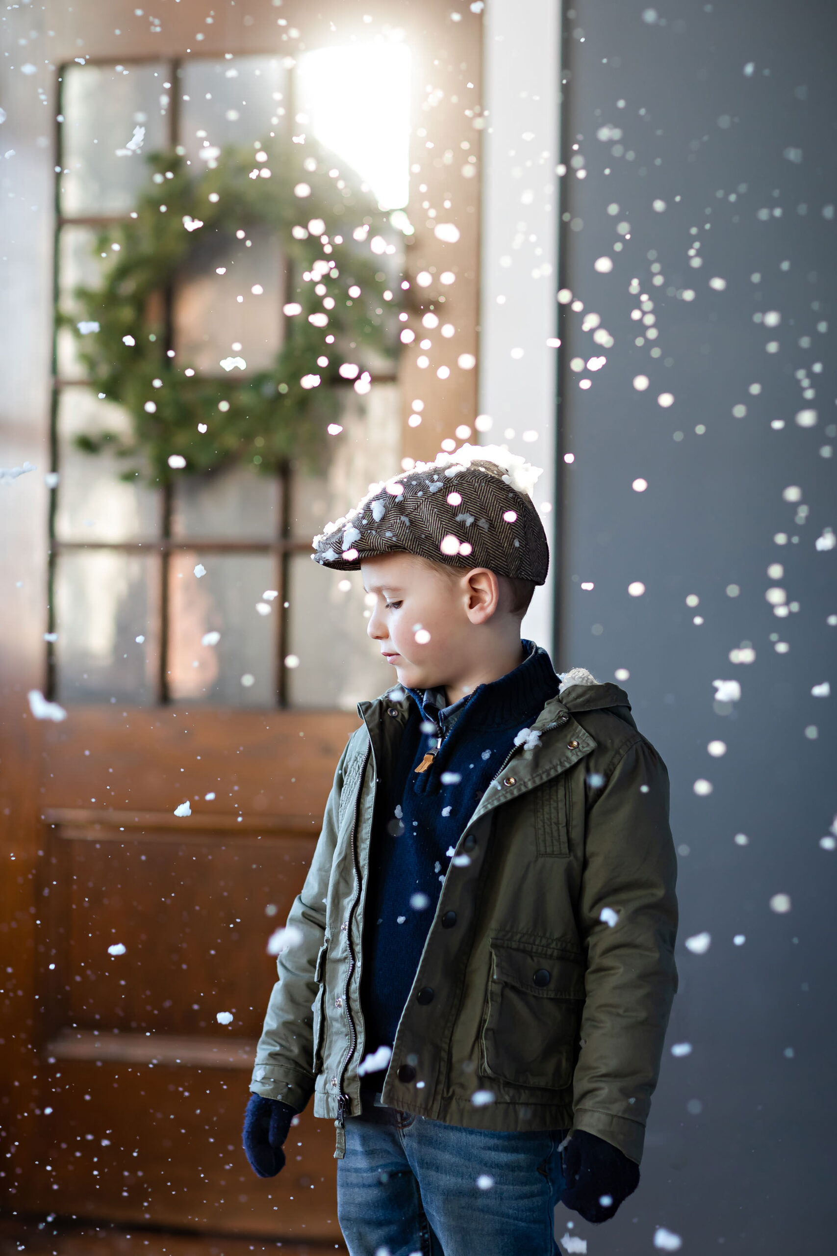 Snow Machine Mini Session